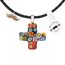 greek cross pendant necklace for men