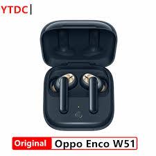<b>Original OPPO Enco W51</b> TWS Earphone Bluetooth 5.0 Noise ...