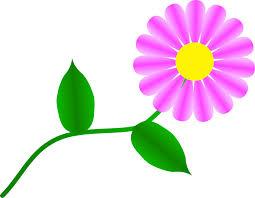 blue daisy flower clipart free clip art images image 8 4 clipartix