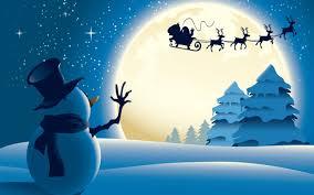 santa claus and reindeer flying. 5120 3200 UHD WHXGA Intended Santa Claus And Reindeer Flying
