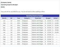 Budget To Actual Template B2b Sales Plan Template Example Marketing Free To Download