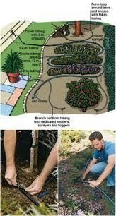 garden irrigation system. Easy Outdoor Drip Irrigation System Garden