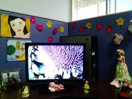office decorate. Home Office Decorate Cubicle. Marvelous Decorating Ideas For Cubicle Minimalist Guest Room