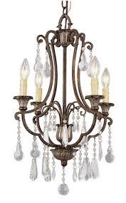 patriot lighting elegant home natalie 23 3 4 4 light antique bronze chandelier at menards