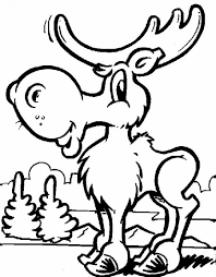 Small Picture Baby Moose Coloring Pages Coloring Coloring Pages