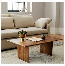 anton solid wood coffee table