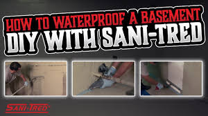 sani tred permaflex. Delighful Tred How To Waterproof A Basement DIY With SaniTred For Sani Tred Permaflex 1