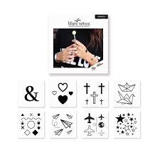 переводные татуировки Symbols 8 шт