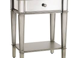 ▻ furniture   mirrored glass nightstand  creative furniture