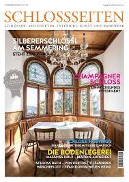 Schlossseiten Magazin Herbst 2018 By Schlossseiten Issuu