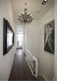 hallway chandelier in home decor ideas with