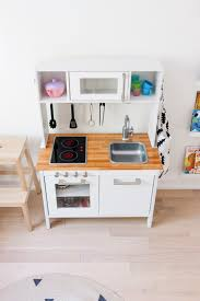 Ikea Hack: A Scandinavian-Inspired Play Kitchen | Happy Grey Lucky