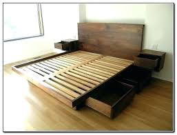 king bed with drawers bed with drawers under bed with storage underneath furniture wooden king platform