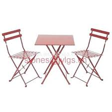 folding bistro table and chairs metal garden balcony furniture steel chair set ikea applaro outdoor wooden