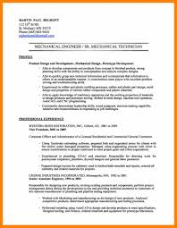 9 Mechanical Engineering Resume Examples Resign Latter