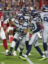 mychal kendricks. Simple Mychal Seattle Seahawks Linebacker Mychal Kendricks 56 During An NFL Football  Game Against The Arizona Intended