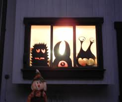... Large-size of Precious Cheap Diy Halloween Window Monsters Window  Monsters Cheap Diy Halloween Decorations ...