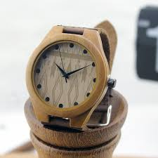 online get cheap nice watch brands for men aliexpress com brand design men s bamboo wristwatches genuine cowhide leather band luxury wood watch for men and women nice gifts items