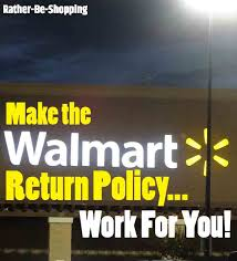 the walmart return policy finally explained on a single page