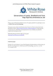 Universities of Leeds, Sheffield and York http://eprints.whiterose.ac.uk/