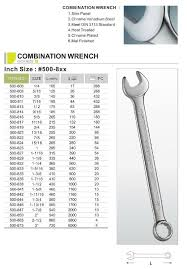 Spanner Size Chart Pdf Spanner Wrench April 2015