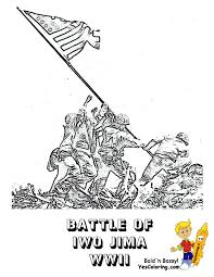 World War I Allied Soldier Army Coloring Page At YesColoring. This ...
