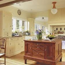 Delightful Classic Yellow Kitchen Cabinets, Beautiful Yellow Kitchen. Cream Colored ... Nice Look