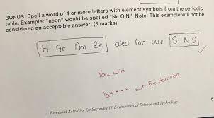 Chemistry Teacher Gives Extra Credit For Harambe Joke