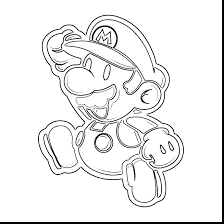 Mario Coloring Pages To Print Coloring Books As Well As Coloring