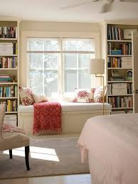 Bedroom Window Seat Reading Nooks