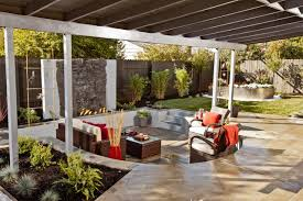 Outdoor Living Room Set Outdoor Living Room With Ceiling Fan And Firepit Outdoor Living
