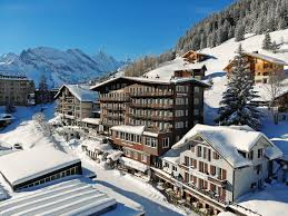 For other uses, see eiger (disambiguation). Hotel Eiger Muerren 4 Star Family Run Hotel In Car Free Alpine Village