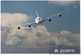 Plakát Letadla Nad Oblohou