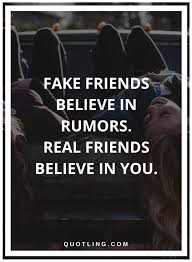 Fake And True Friends Quotes