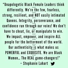 Stephanie Lahart Black Female Leader And Leadership Quotes