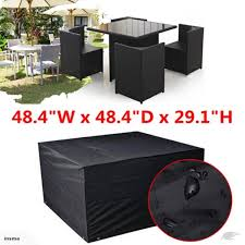 waterproof garden patio furniture cover cover for rattan table cube outdoor trade me