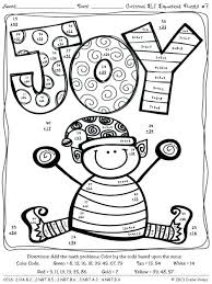 Free Coloring Pages For Middle School Math First Grade And Printable
