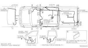 2004 nissan titan crew cab oem parts nissan usa estore body illustration