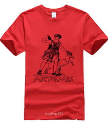 Romans Clothing Size Chart Funny T Shirts Design Crew Neck Artemis T Shirt Greek