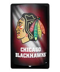 chicago blackhawks motion glow wall art