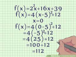 quadratic standard form examples inspirational how to graph a quadratic equation 10 steps with