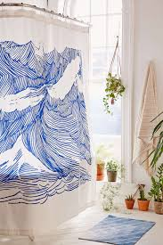 shower : Zen And The Art Of Choosing Luxury Shower Curtains Shower ...