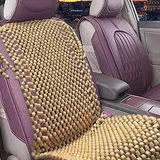 Zone Tech Natural Royal <b>Wood Bead</b> Seat Cover Massage Cool ...