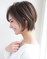 縮毛矯正をプラスして完成度の高いショートスタイルの完成 Arine