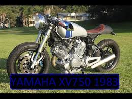 yamaha xv750 cafe racer custom rebuild