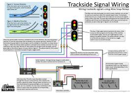 ty s model railroad wiring diagrams how to wire trackside signals using an atlas snap relay and led lamps to show turnout