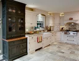 Appliance Garages Kitchen Cabinets Traditional Kitchen Custom Hutch Apron Sink Corner Appliance