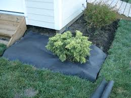 Use landscape fabric to keep weeds out. Unless you love spending your free  time yanking