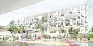 School Designs The French International School Henning Larsen Archdaily
