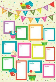 Unmistakable Designs For Birthday Chart Birthday Chart